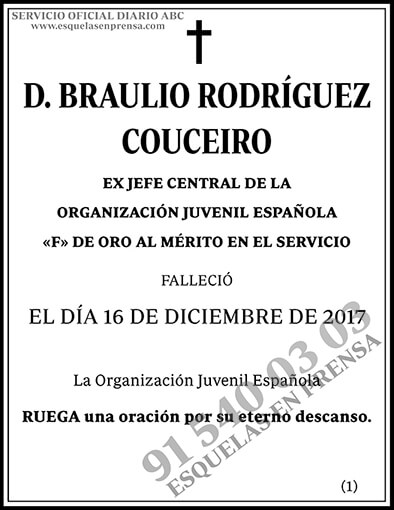 Braulio Rodríguez Couceiro